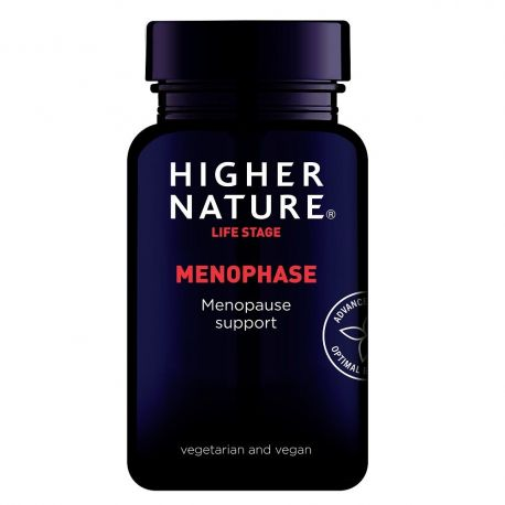 HIGHER NATURE MENOPHASE 90 gel-caps