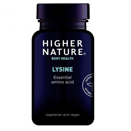 HIGHER NATURE LYSINE-L 500mg - 90 V-tabs