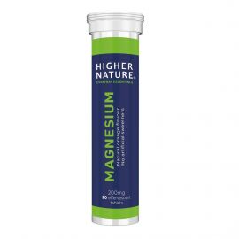 HIGHER NATURE Magnesium Effervescent Tube - 20tabs