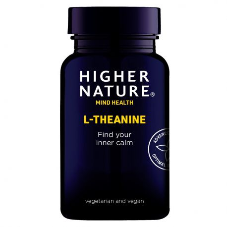 HIGHER NATURE L-THEANINE - 90 V-caps