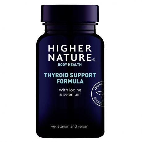 HIGHER NATURE THYROID SUPPORT FORMULA 60 v-caps