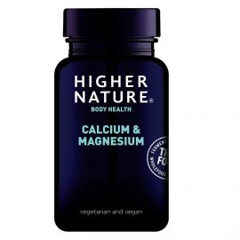 HIGHER NATURE TRUE FOOD CALCIUM & MAGNESIUM 60 v-tabs