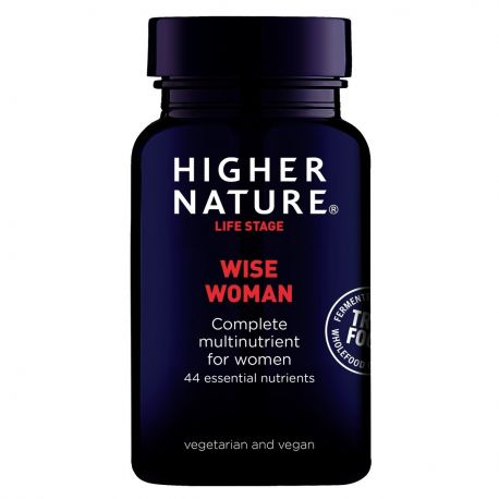 HIGHER NATURE TRUE FOOD WISE WOMAN 90 v-caps