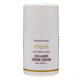 HIGHER NATURE AETERNA GOLD COLLAGEN CREME SERUM - 50 ml
