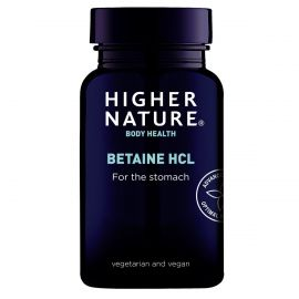 HIGHER NATURE BETAINE HCL - 90 CAPS