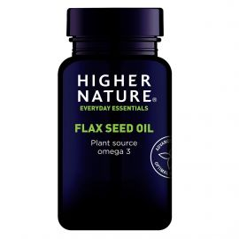 HIGHER NATURE FLAX SEED OIL CAPS 1000mg - 60 caps