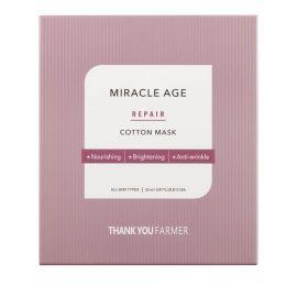 THANK YOU FARMER MIRACLE AGE Repair Cotton Mask - 25ml