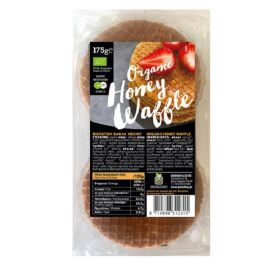 Green Bay Organic Honey Waffle 175g ΟΡΓΑΝΙΚΕΣ ΒΑΦΛΕΣ ΜΕΛΙΟΥ