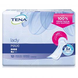 TENA Lady Discreet Maxi Σερβιέτα ακράτειας - 12 τεμ.