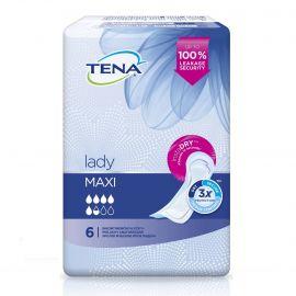 TENA Lady Discreet Maxi Σερβιέτα ακράτειας - 6 τεμ.