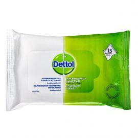 Dettol Υγρά Αντιβακτηριδιακά Μαντηλάκια Kαθαρισμού