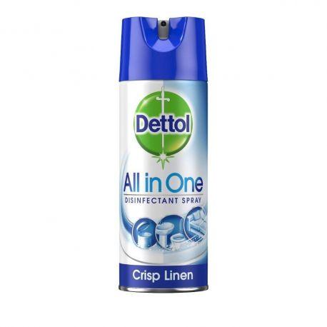 Dettol Απολυμαντικό spray Crisp Linen 400ml