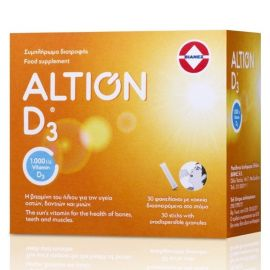 ALTION VITAMIN D3 1000IU 30 sachets ORANGE FLAVOUR
