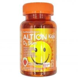 ALTION KIDS VITAMIN D3 SUN 60gelcaps