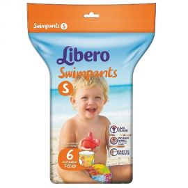 LIBERO Πάνα Μαγιό Swimpants Small 7-12kg - 6 τεμ.