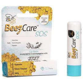 BeezCare Lip Balm SOS για Ραγισμένα & Κατεστραμμένα Χείλη 5.1g