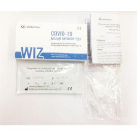 Wiz Biotech Rapid Test αντισωμάτων IgG/IgM κορωνοϊού Covid-19 ατομική συσκευασία 1τμχ