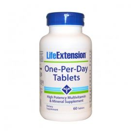 LIFE EXTENSION ONE PER DAY 60 VEG.TABS