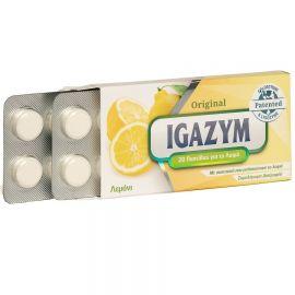 Igazym Παστίλιες με Πρωτόγαλα για το Λαιμό - Λεμόνι 20τμχ