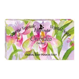 FLORINDA SOAP FLOWER NOTES ORCHID 100G ΣΑΠΟΥΝΙ