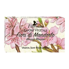 FLORINDA SOAP FLOWER NOTES ALMOND BLOSSOM 100G ΣΑΠΟΥΝΙ