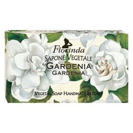 FLORINDA SOAP FLOWERS AND FLOWERS GARDENIA 100G ΣΑΠΟΥΝΙ