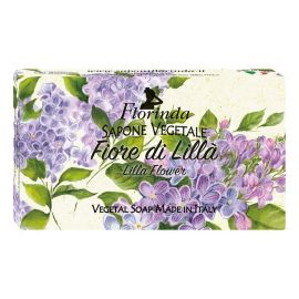 FLORINDA SOAP FLOWERS AND FLOWERS LILLA FLOWER 100G ΣΑΠΟΥΝΙ