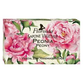 FLORINDA SOAP FLOWERS AND FLOWERS PEONY 100G ΣΑΠΟΥΝΙ