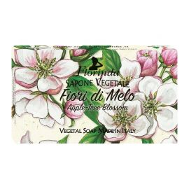 FLORINDA SOAP FLOWERS APPLE-TREE BLOSSOM 100G ΣΑΠΟΥΝΙ