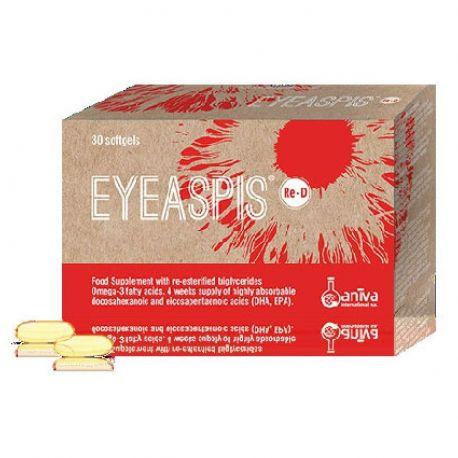 Eyeaspis Re-D -Dry Eye- ΓΙΑ Διαβητική Αμφιβληστροειδοπάθεια Aniva 30 Softgels