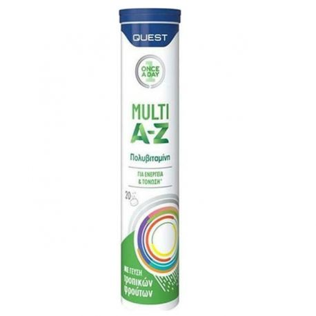 Quest Vitamin MULTI A-Z 20 effervescent tablets