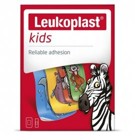 LEUKOPLAST Kids Zoo 2 μεγέθη - 12 τεμάχια