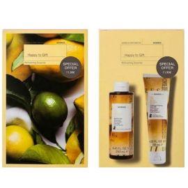 Korres Promo Citrus - Αφρόλουτρο Κίτρο 250ml & Γαλάκτωμα Σώματος 125ml
