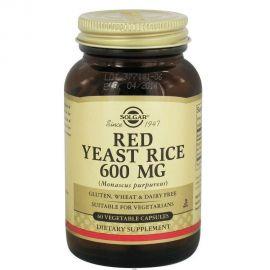 SOLGAR - RED YEAST RICE 600mg veg.caps 60s