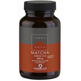 TERRANOVA Matcha Green Tea 400mg (organic-Ceremonial Grade AAA) - 50 capsules