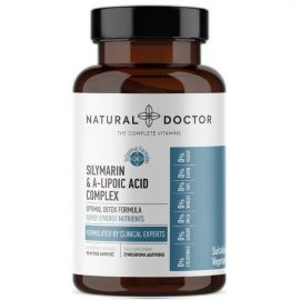 NATURAL DOCTOR Silymarin & A-Lipoic Acid Complex (Clear Liver) 90 Veg.Caps