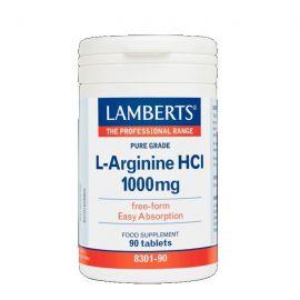 LAMBERTS L-ARGININE 1000mg 90 caps