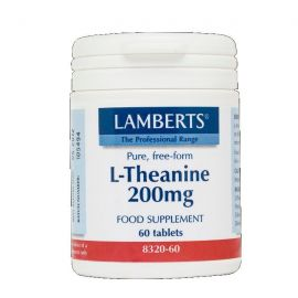 LAMBERTS L-THEANINE 200mg 60 tabs