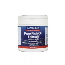 LAMBERTS PURE FISH OIL 1100mg (EPA) 180 caps ΩΜΕΓΑ 3 ΛΙΠΑΡΑ ΟΞΕΑ