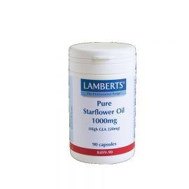 LAMBERTS PURE STARFLOWER OIL 1000MG (HIGH GLA 220MG) 90 caps