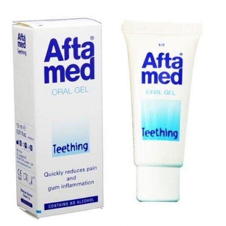 AFTAMED Teething GEl (15 ml) – Γέλη ανακούφιση των ούλων κατά τη νεογιλή οδοντοφυΐα