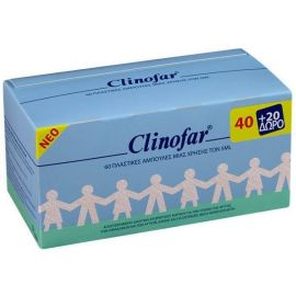 CLINOFAR ΠΛΑΣΤΙΚΕΣ 40+20 ΑΜΠΟΥΛΕΣ - 5ml