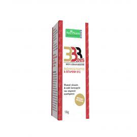 APIPHARM 3BEES BODY & BRAIN BOOSTER (B12 & ΒΑΣΙΛΙΚΟΣ ΠΟΛΤΟΣ) 18g