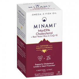 MINAMI Nutrition MorEPA Cholesterol Smart Fats 30 caps ΧΟΛΗΣΤΕΡΙ