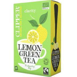 Clipper bio LEMON GREEN TEA Πράσινο Τσάι 20 ΦΑΚΕΛΑΚΙΑ 40GR