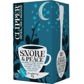 CLIPPER BIO tea Snore and Peace 20 bags x 1.5g (30gr)