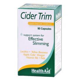 HEALTH AID Cider Trim ΜΗΛΟΞΥΔΟ κάψουλες με λεκιθίνη, φύκια και β
