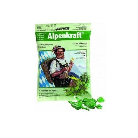 POWER HEALTH Alpenkraft καραμέλες, 75 g (βήχας, λαιμός)