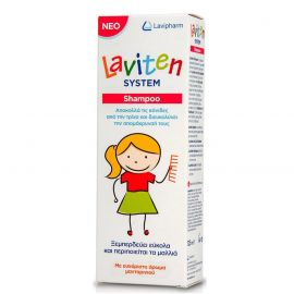 LAVITEN ANTI LICE SOLUTION 125ML+ΧΤΕΝΑΚΙ