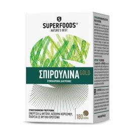 Superfoods ΣΠΙΡΟΥΛΙΝΑ, Spirulina Gold Eubias™, 300mg, 180t